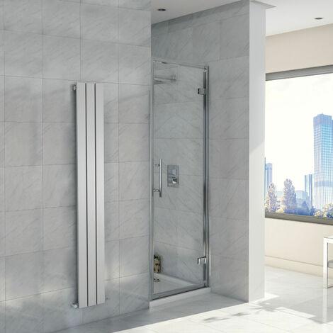 Orbit A8 Hinged Shower Door 700mm Wide - 8mm Glass