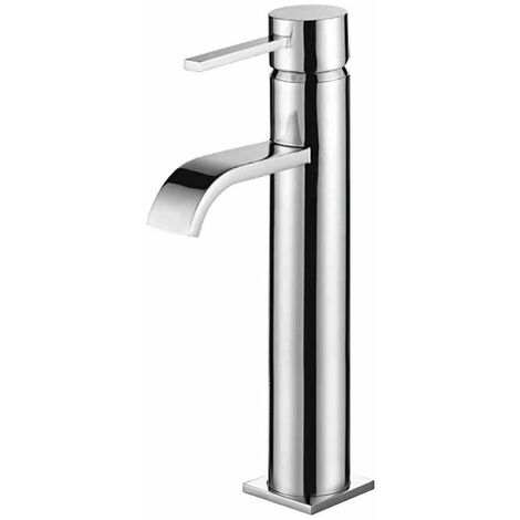 Orbit Luxo Tall Basin Mixer Tap - Chrome