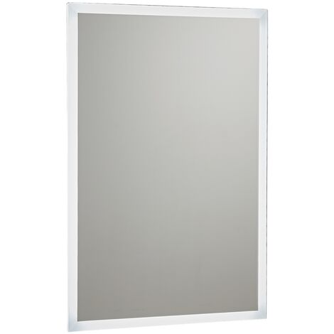 Orbit Mosca LED Bluetooth Bathroom Mirror with Demister Pad and Shaver Shocket 700mm H x 500mm W