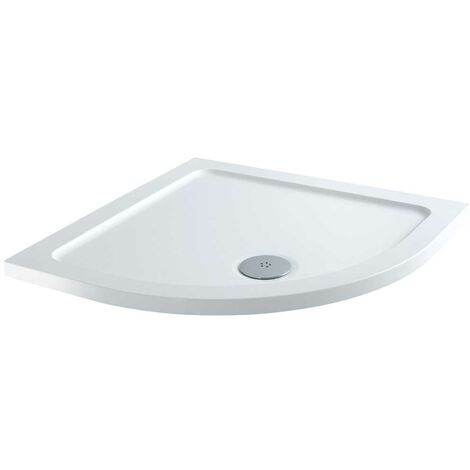 Orbit Quadrant Shower Tray 1000mm x 1000mm Stone Resin