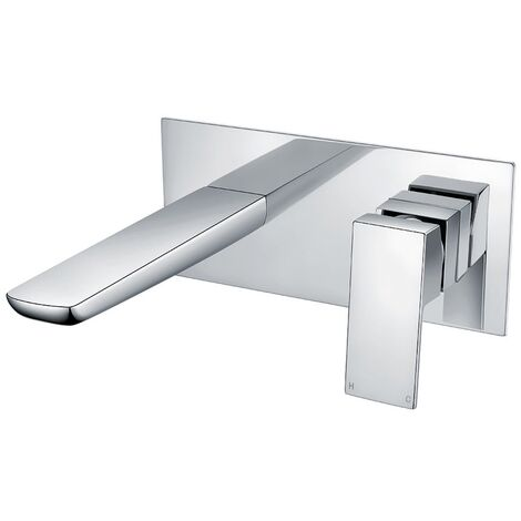 Orbit Uno Single Lever Bath Filler Tap Wall Mounted - Chrome