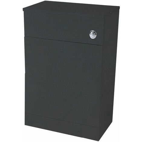 Orbit Verona Back to Wall WC Unit 500mm Wide - Anthracite