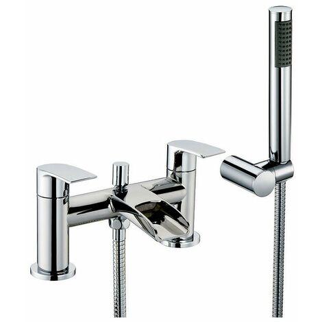 Orbit Vino Bath Shower Mixer Tap Pillar Mounted - Chrome