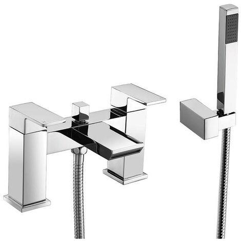 Orbit Vito Bath Shower Mixer Tap Pillar Mounted - Chrome