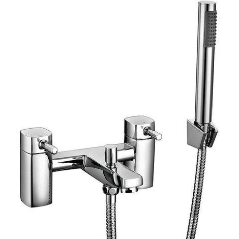 Orbit Zero Bath Shower Mixer Tap Pillar Mounted - Chrome