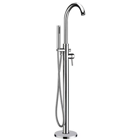 Orbit Zico Freestanding Bath Shower Mixer Tap Single Handle - Chrome