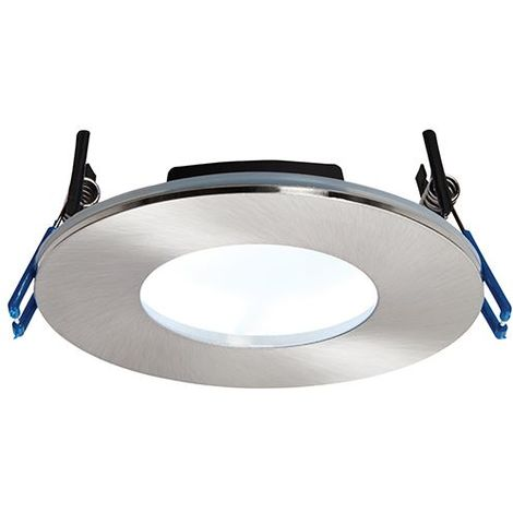Orbital Plus IP65 9W Cool White Ceiling Down Recessed Light - Satin Nickel