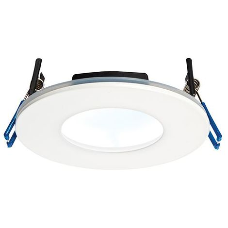 Orbital Plus IP65 9W Cool White Downlight Recessed - Matt White