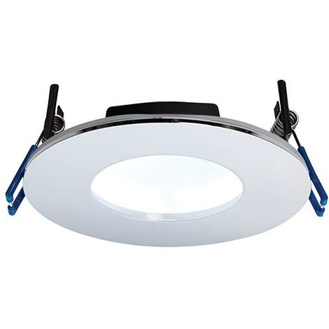 Orbital Plus IP65 9W Cool White Recessed Light - Chrome Plate