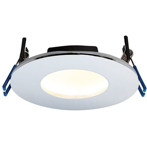 Orbital Plus IP65 9W Warm White Down Recessed Light - Chrome Plate