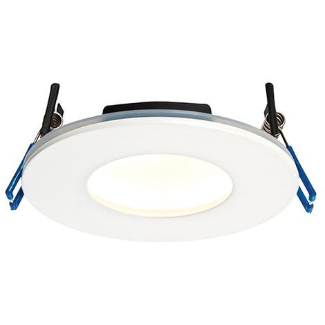 Orbital Plus IP65 9W Warm White Recessed Light - Matt White