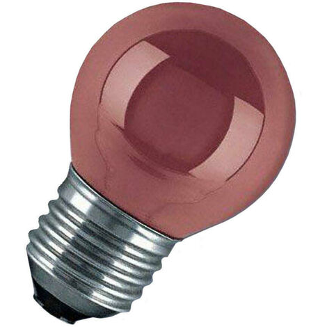 Orbitec 15W Golfball E27 Dimmable Red