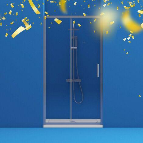 Orchard 6mm framed sliding shower door 1200mm