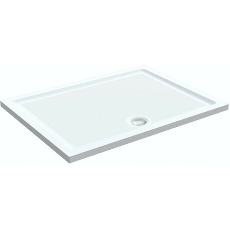"main image of ""Orchard anti-slip rectangular stone shower tray 1000 x 700"""