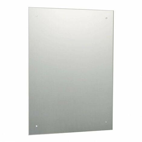Orchard bevelled edge drilled bathroom mirror 600 x 450mm