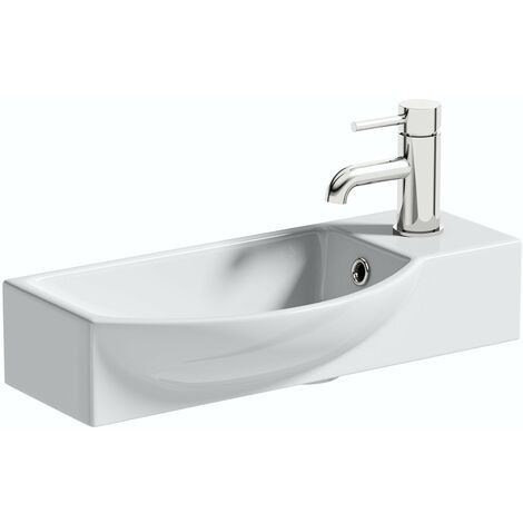 Orchard Constance 1 tap hole basin 505mm