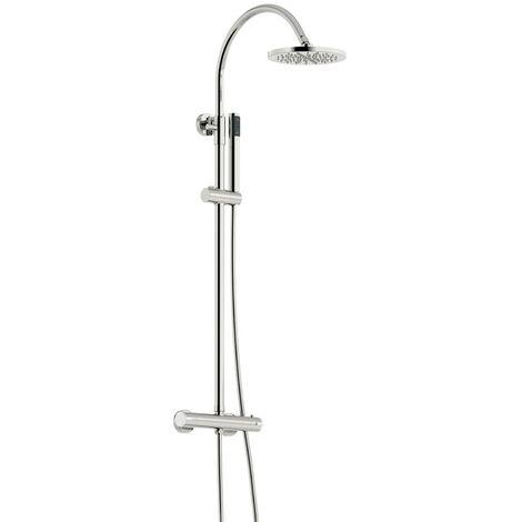 Orchard Derwent round shower riser system