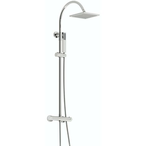 Orchard Derwent square shower riser system