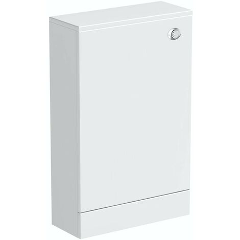 Orchard Derwent white back to wall toilet unit 500mm