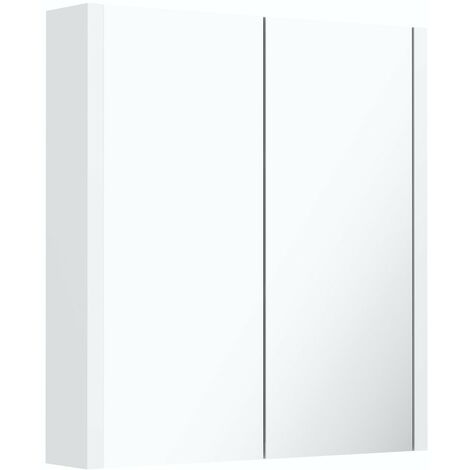 Orchard Derwent white mirror cabinet 650 x 600mm