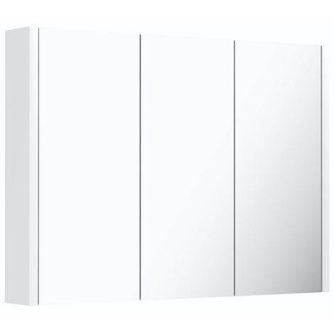 Orchard Derwent white mirror cabinet 650 x 900mm