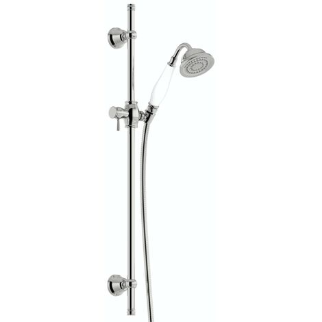 Orchard Dulwich traditional sliding shower rail kit