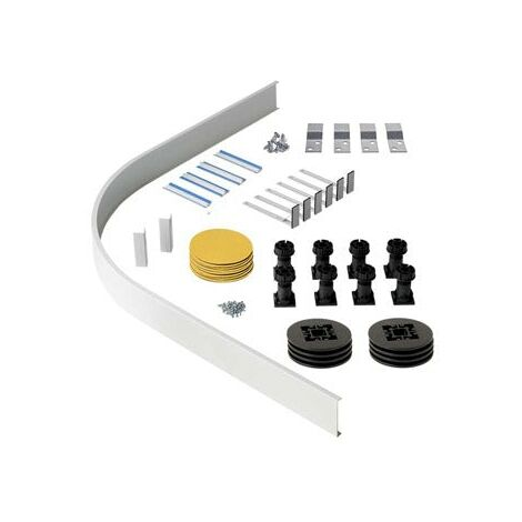 Orchard easy plumb riser kit for quadrant and offset quadrant stone shower trays