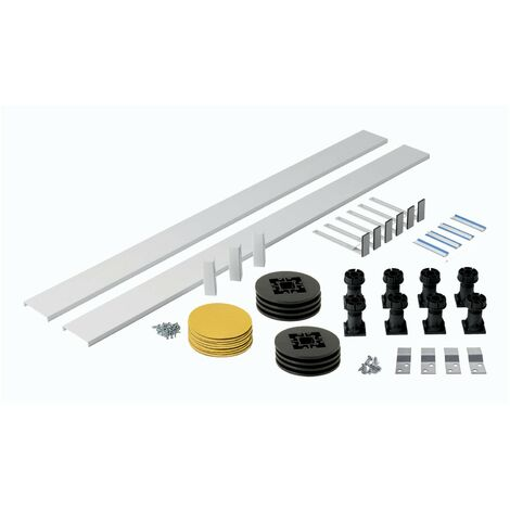 Orchard easy plumb riser kit for rectangle and square stone shower trays up to 1200mm