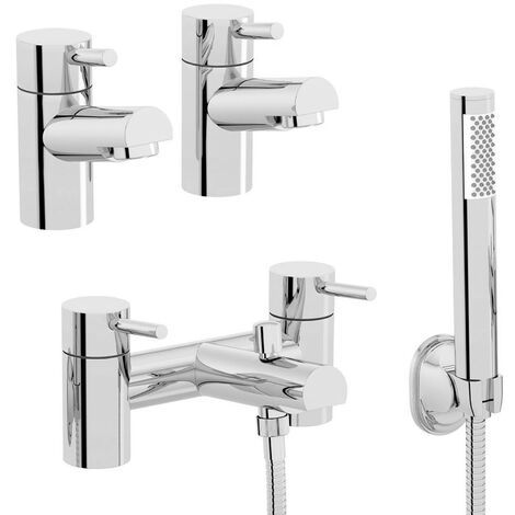 Orchard Eden basin tap and bath shower mixer tap pack