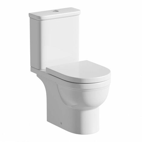 Orchard Elsdon close coupled toilet with soft close toilet seat