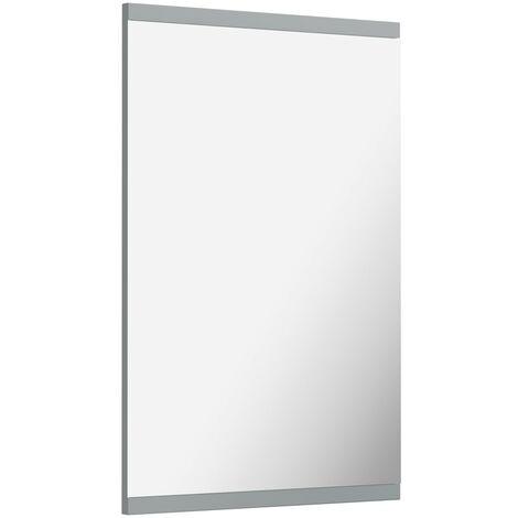 Orchard Elsdon stone grey bathroom mirror 750 x 500mm