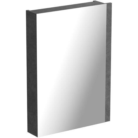 Orchard Kemp riven grey mirror cabinet 760 x 542mm