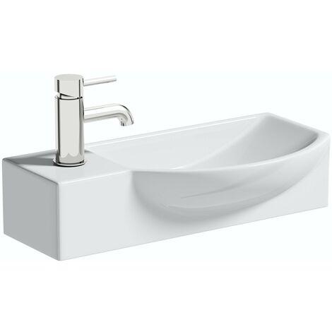 Orchard Lugano 1 tap hole basin 505mm