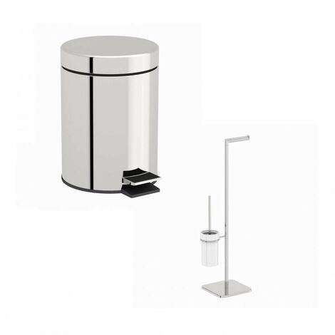 Orchard Options white toilet accessory set