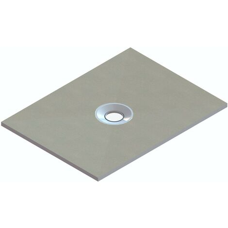 """main image of """"Orchard rectangular wet room tray former with centre waste position 1200 x 900"""""""