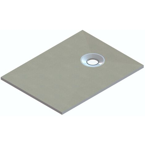 """main image of """"Orchard rectangular wet room tray former with end waste position 1400 x 900"""""""