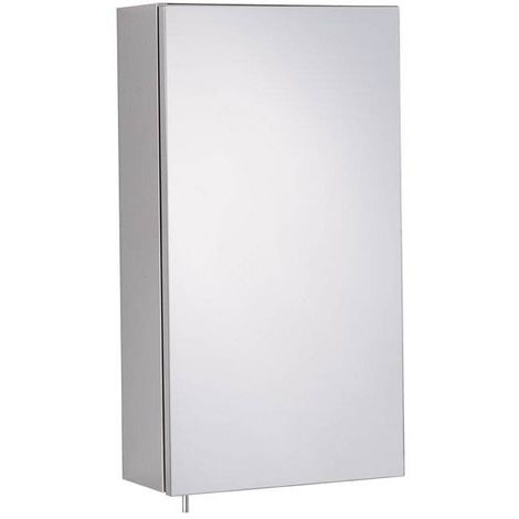 Orchard Reflex stainless steel mirror cabinet 550 x 300mm