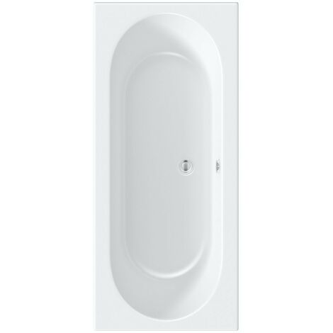 Orchard round edge double ended bath 1700 x 750