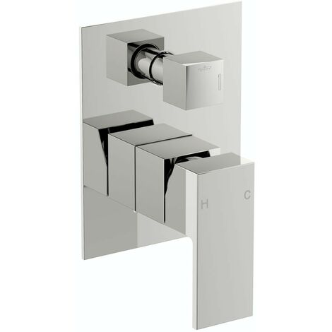 Orchard Square manual shower valve with diverter