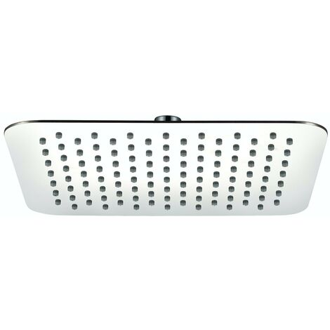 Orchard stainless steel ultra slim soft square shower head 300mm