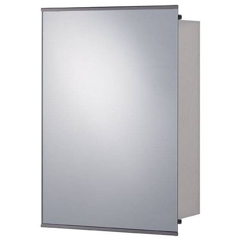 Orchard Twist stainless steel mirror cabinet 500 x 340mm