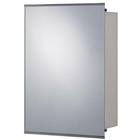 Orchard Twist stainless steel mirror cabinet 500 x 340mm