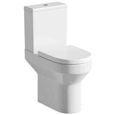Orchard Wharfe comfort height close coupled toilet with soft close toilet seat