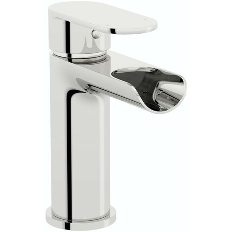 Orchard Wharfe waterfall basin mixer tap