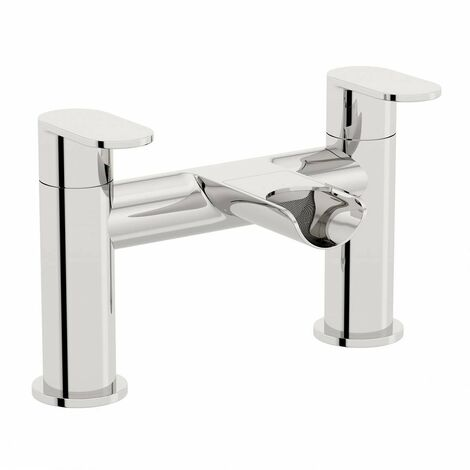 Orchard Wharfe waterfall bath mixer tap