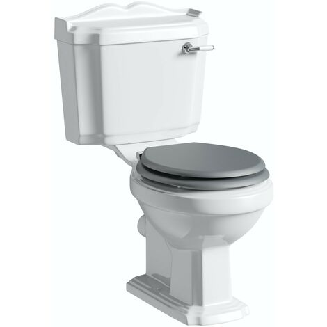 """main image of """"Orchard Winchester close coupled toilet with grey soft close seat"""""""