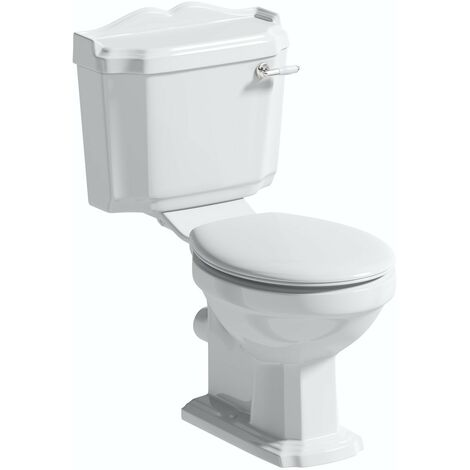 Orchard Winchester close coupled toilet with standard close plastic seat