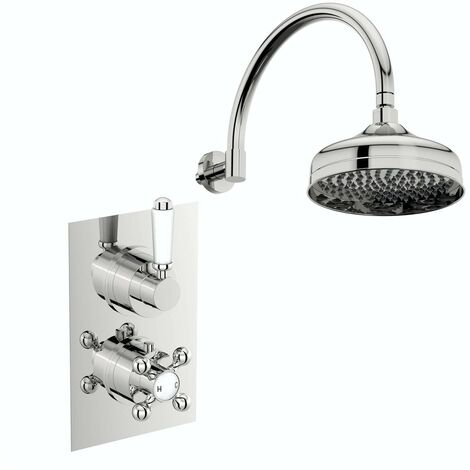 Orchard Winchester concealed thermostatic mixer shower with wall arm