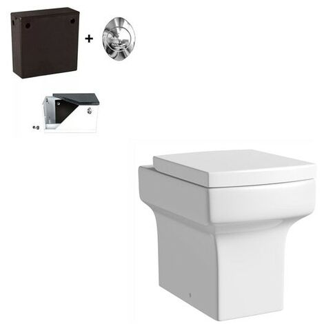 Orchard Wye back to wall toilet with soft close seat and concealed cistern