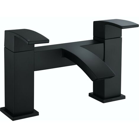 Orchard Wye black bath mixer tap